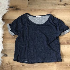 Old Navy Cropped Crewneck